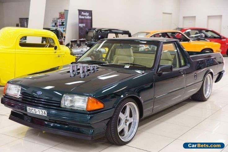 1982 Ford Falcon XE GL Green Automatic A Utility #ford #falcon #forsale #australia