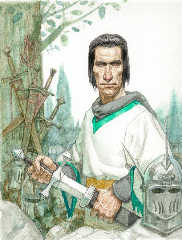 """""""La leyenda del Rey Arturo"""", Biblioteca Grandes Clasicos de revista GENIOS ,  i. Noé."""