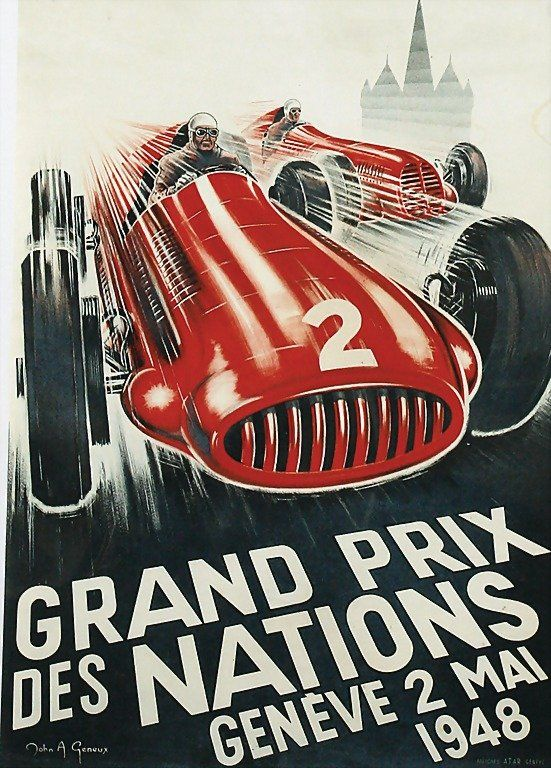 grand prix racing posters - Google Search