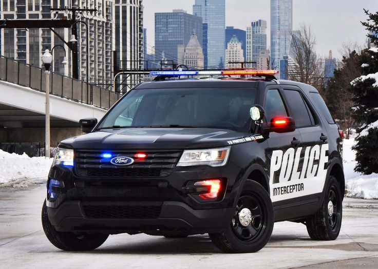 Ford will unveil the 2016 Ford Police Interceptor Utility vehicles in 2015 of the Chicago Auto Show