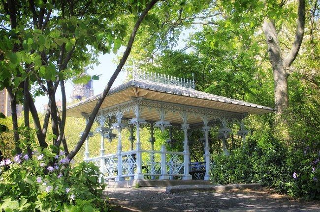 Ladies Pavilion Central Park New York