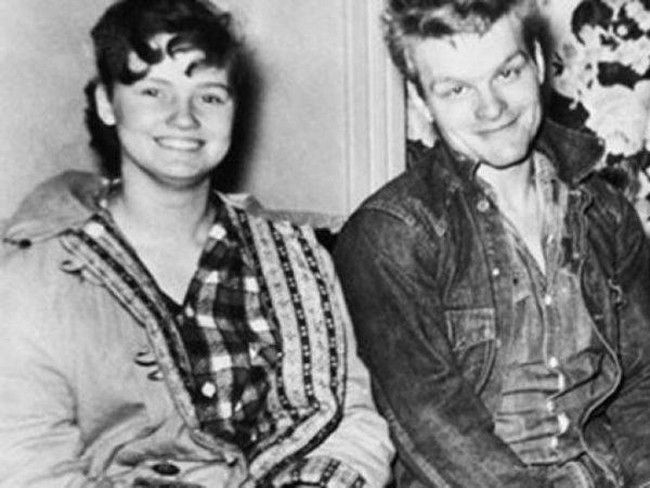 Charles Starkweather and Caril Ann Fugate -- the Badlands Killers