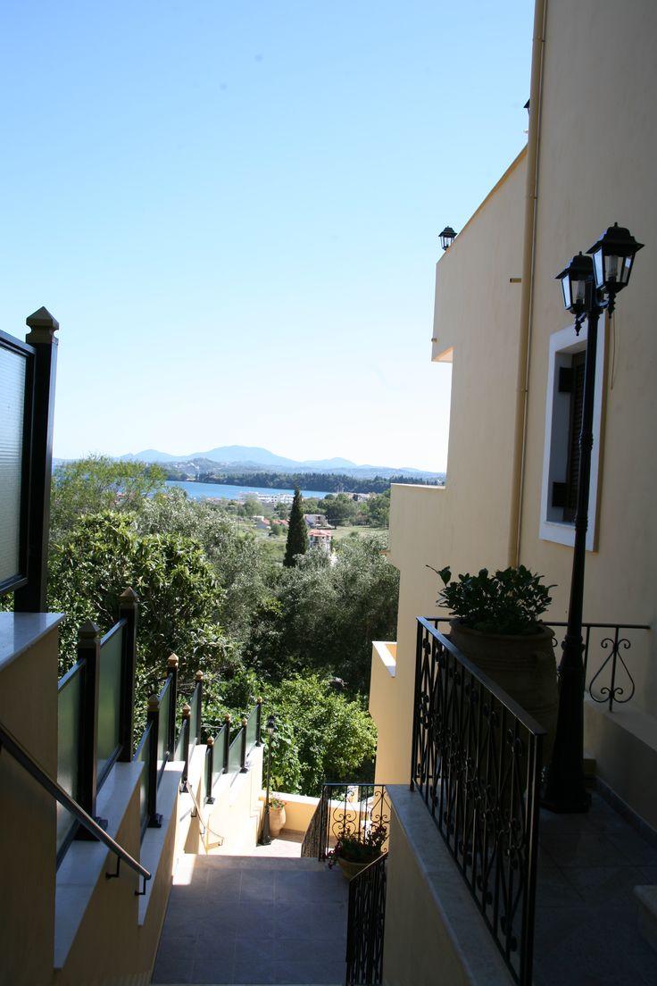 Panoramic view from Corfu Secret hotel