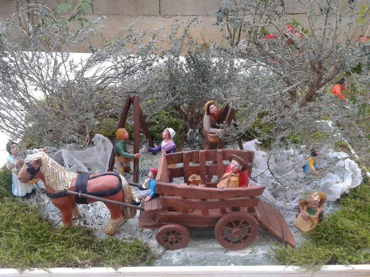 """création 2016   """" la cueillette des oliviers"""""""