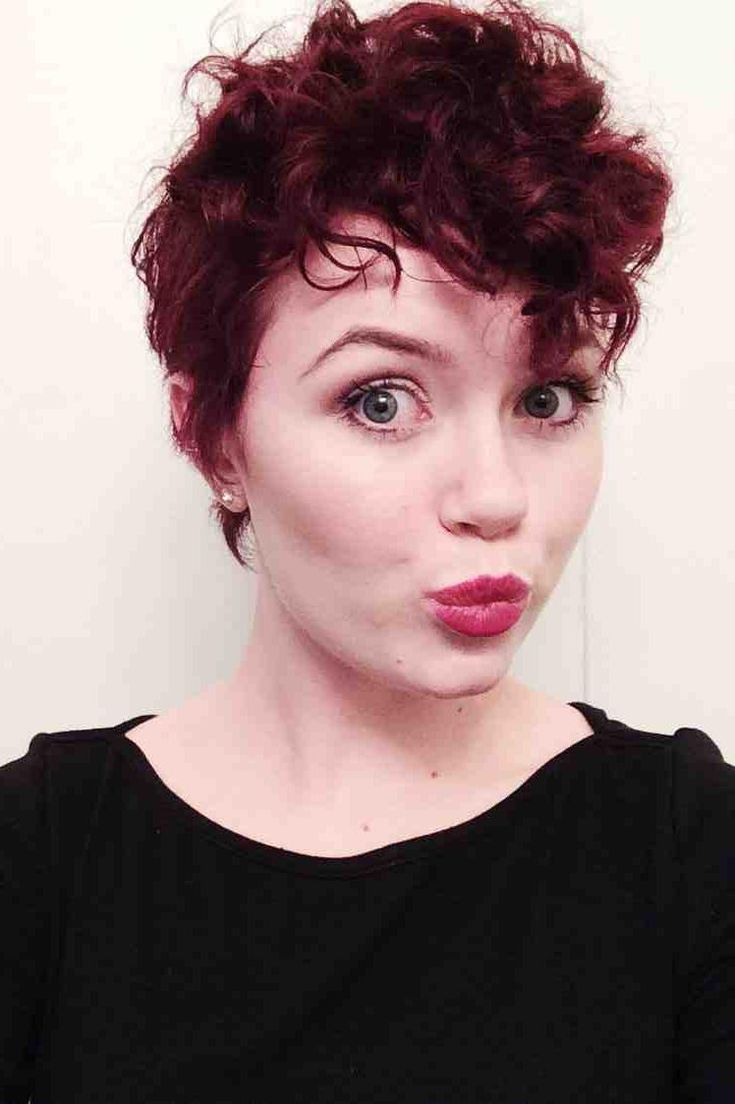 Curly pixie cut before and after google search hair inspiration
