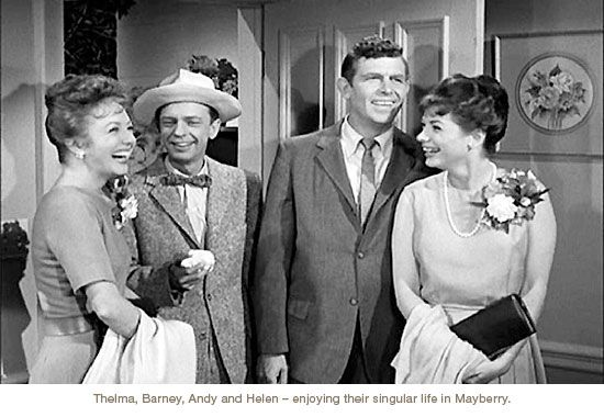Iconic 1960s TV Show had Town Populated with Singulars