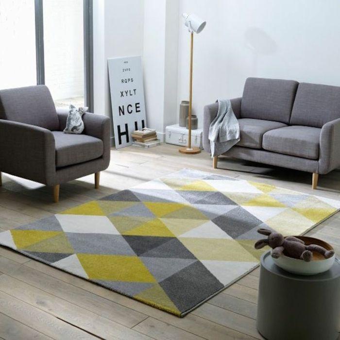 Best 25+ Teppich Gelb Ideas On Pinterest | Gelbe Küchenwände ... Wohnzimmer Grau Und Gelb