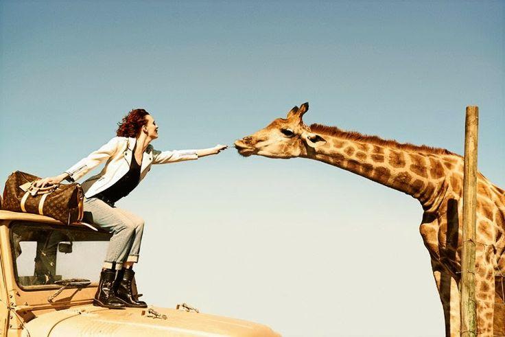 UM RAIO DE SOL NA ÁGUA FRIA By Marta Martins : Louis Vuitton Spirit of Travel Campaign by Peter L...
