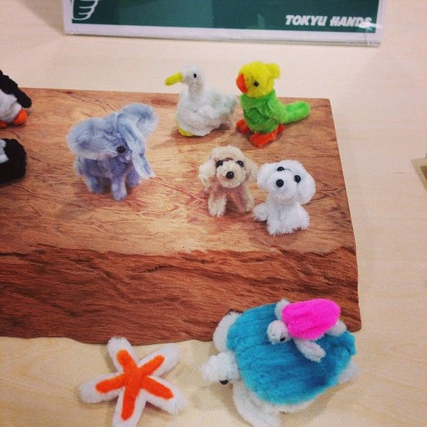 how to make pipe cleaner poodles