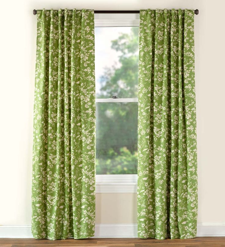 Floral Damask Insulated Curtains | Curtains | Plow
