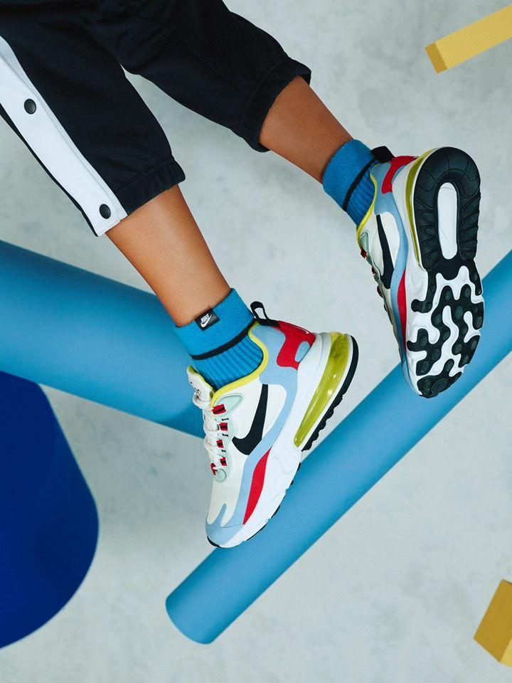 Nike Sneaker, Sneaker von Nike, Schuhe von Nike, bunte Nike