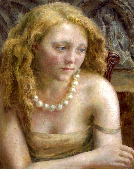 "Dod Procter, ""The Pearl Necklace"""
