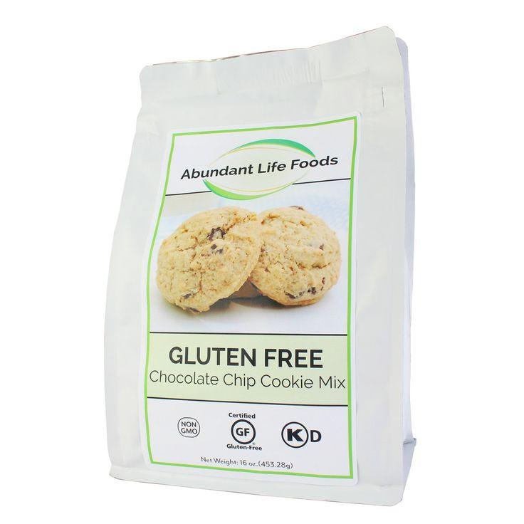 Abundant life foods gluten free chocolate chip cookie mix