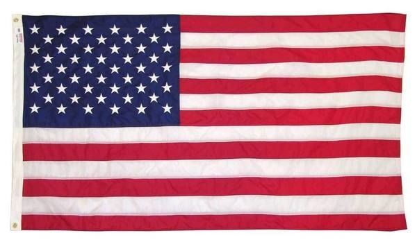 Nylon American Flags Made by Valley Forge