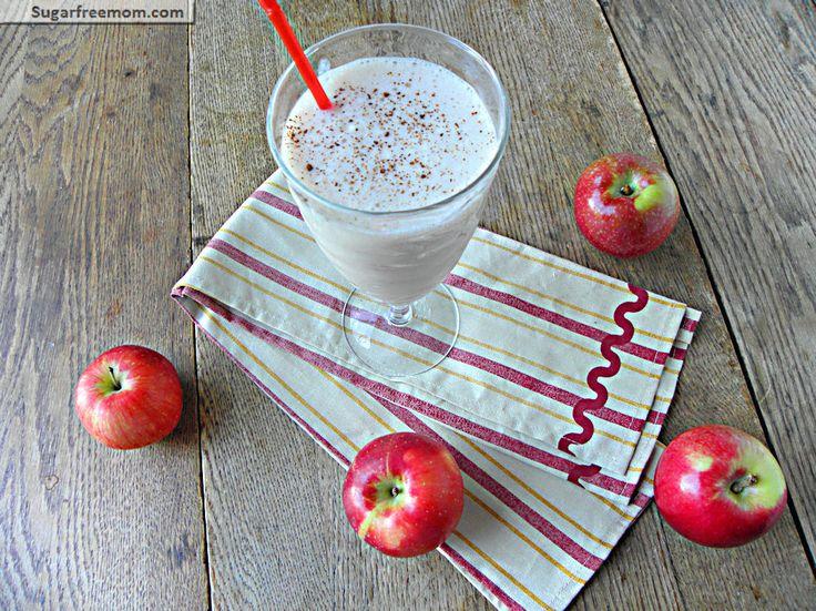 Healthy Apple Pie Protein Smoothie: No Sugar Added: Healthy Apple Pies, No Sugar, Apple Pie Smoothie, Protein Smoothie, Apple Piesmoothie, Pumpkin Pies