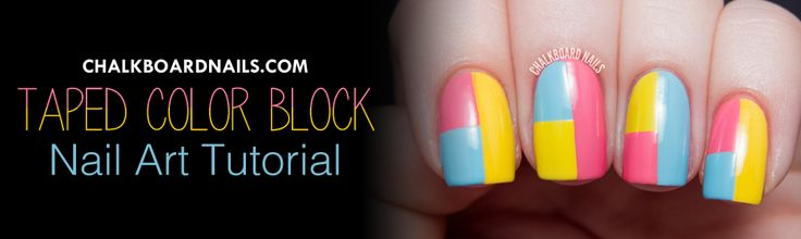 Nail Art Tutorials and DIY Projects | Chalkboard Nails | Nail Art Blog