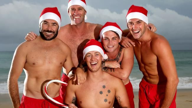 Bondi Rescue's family Christmas