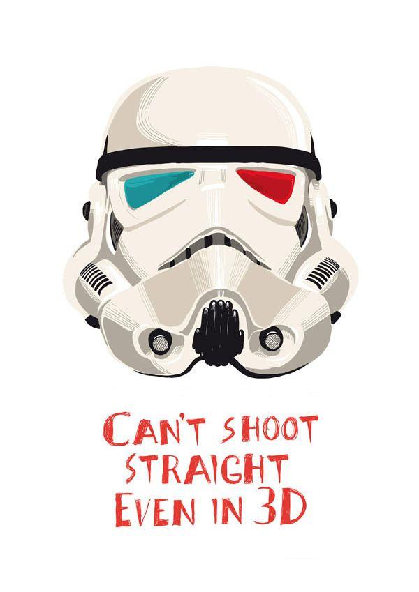.Wars Prints, Geek Stuff, Stars Warsgasm, 3D Straight, Starwars Stormtroopers, Funny Starwars, Shoots Straight, Straight Shoots, Case