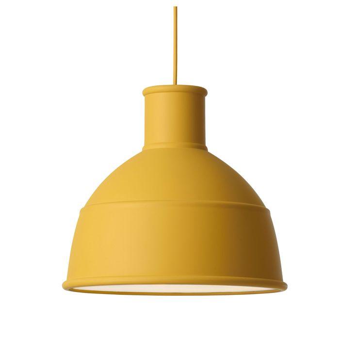 Unfold pendel, mustard i gruppen Belysning / Lampor hos RUM21.se (1024877)