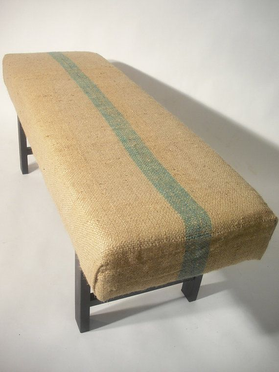 Coffee Sack Bench - you know I'm liking this!