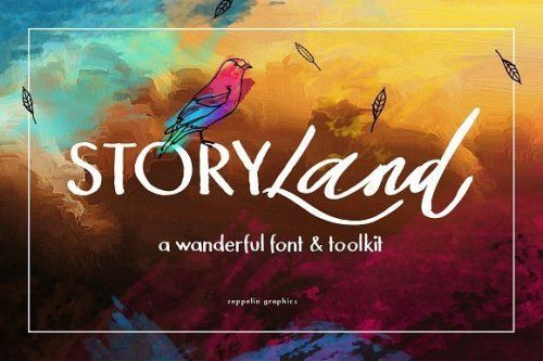 designeour:    Storyland Font & Toolkit by Zeppelin Graphics...