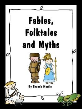 What are some well-known Myths, Folktales, and Legends?