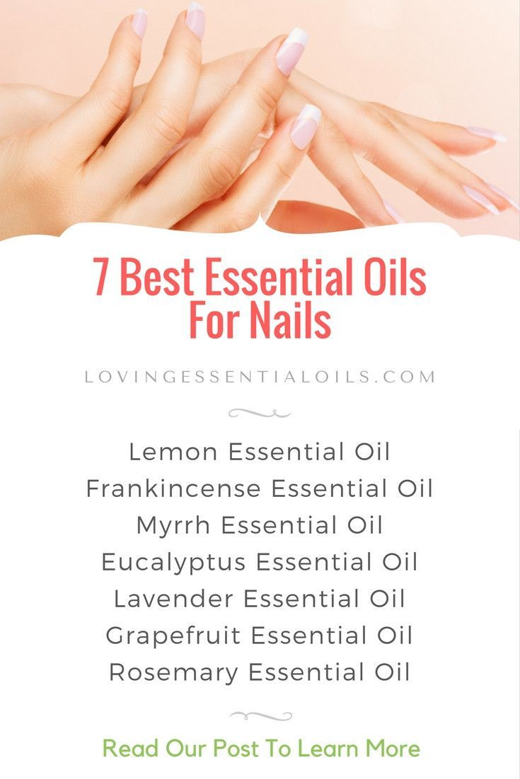 7 Best Essential Oils For Nails | Beauty Tips | List of Oils For Healthy Nails & Cuticles - Lemon Frankincense Myrrh Eucalyptus Lavender Grapefruit Rosemary
