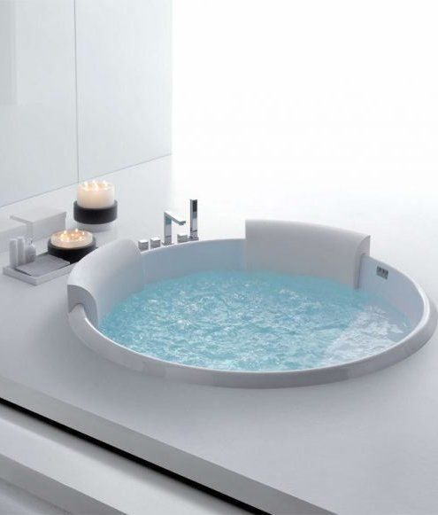 #Whirlpool built-in #bathtub BOLLA 160 by HAFRO #bathroom #wellness