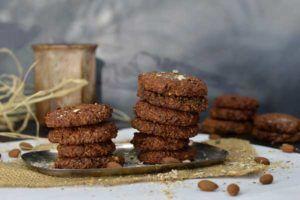 Muesli koekjes met vijgen en Choco Loco