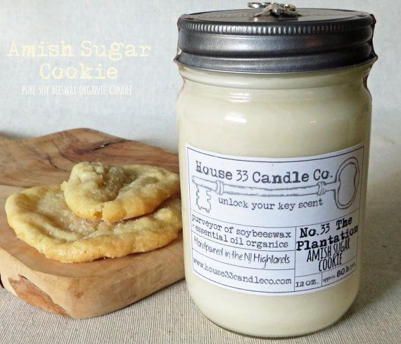 organic candle scent No.33 The Plantation House by House33CandleCo