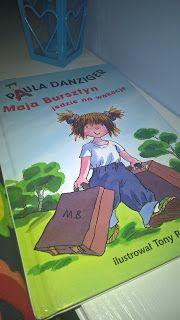 """Jakiś czas temu kupiłam mojej córci książeczkę o przygodach Mai Bursztyn i zakup ten okazał się strzałem w dziesiątkę. Dowiedziałam się bowiem, że moja Maja bardzo lubi opowieści o przygodach dziewczynek o tym samym imieniu. Z pewnością zatem kolejne części z serii """"Maja Bursztyn"""" trafią do biblioteczki mojej Majeczki"""