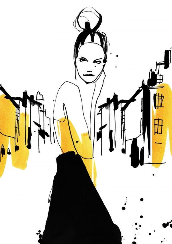 cecilia lundgren fashion illustration
