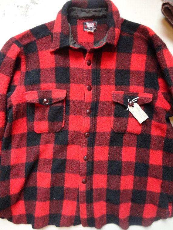 Mens Red Linen Shirt