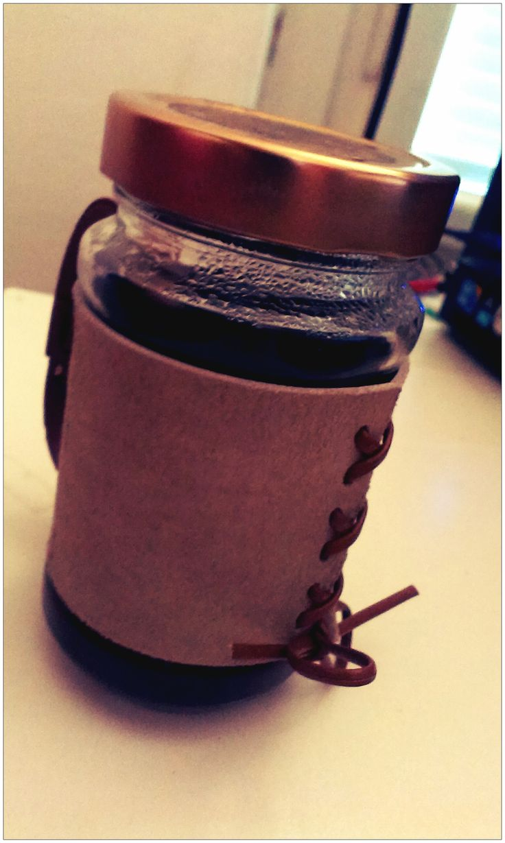 new leather cup <3