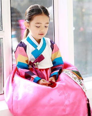 귀여운 아가 한복♡Korea traditional dress Hanbok.