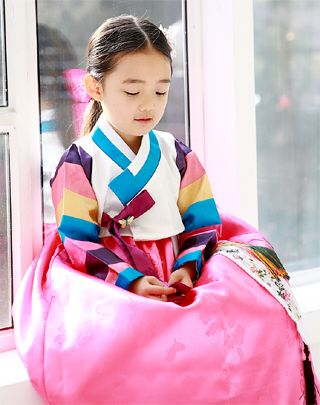 한복 Hanbok : Korean traditional clothes[dress]  | #BabyHanbok
