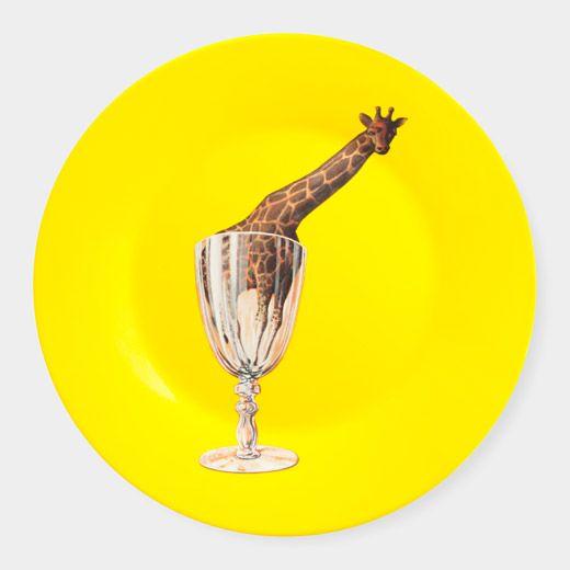 Magritte: Giraffe Plate