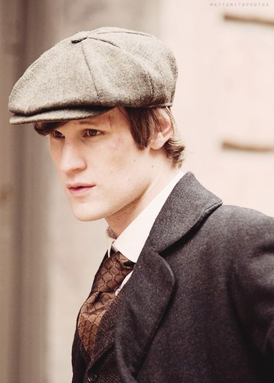 I've never really thought Matt Smith was overly cute, but this pic? Oh the cuteness!