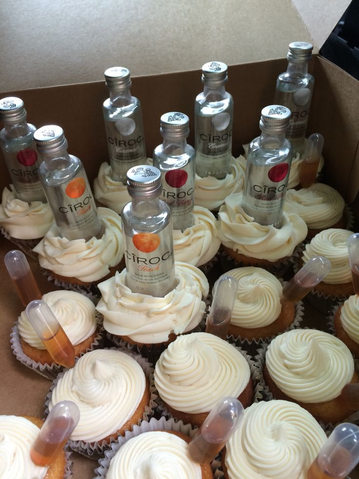 Best 25 Alcohol Infused Cupcakes Ideas On Pinterest