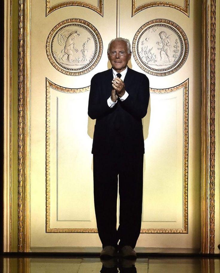 Giorgio Armani, cel mai de succes designer italian