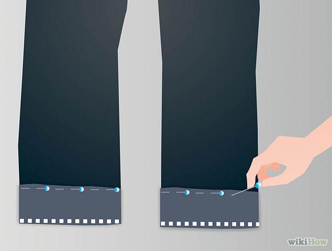 Tuto : comment faire un ourlet sans couper le pantalon. Idéal pour les enfants qui grandissent parfois très vite...!!!