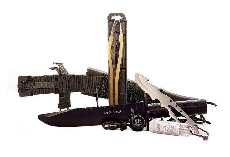"""Нож для выживания """"Аллигатор"""" - купить в интернет магазине"""