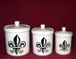 de lis canisters for the kitchen 32 best images about fleur de lis kitchen canisters on