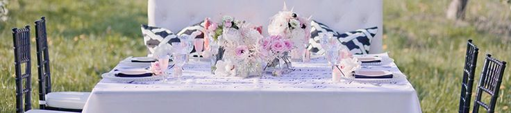 Table Linens for Events | Linen Rentals | Weddings, Events & Parties