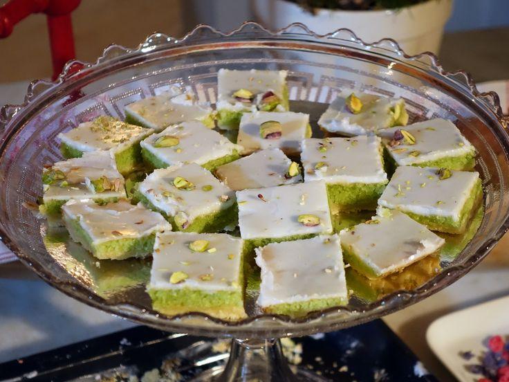Florentiner med mandelkräm och pistage | Recept från Köket.se