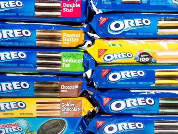 Once upon a time, in my lunchbox and in the lunchboxes of the other kids at my lunch table, there was just one kind of Oreo. You know. An Oreo. The lucky kids had Double Stuf. But that was about it. Now, there are dozens of variations of the classic cookie. So we, of course, had to try them all out.
