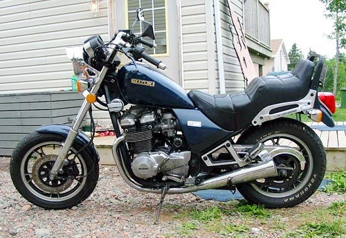 suzuki 1983 GS550L Motorised bike, Motorcycle, Suzuki