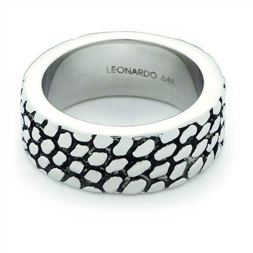 Herrenring Icona Men von Leonardo 015277 http://www.thejewellershop.com/ #herrenring #ring #men #herrenschmuck #leonardo #steel #jewelry