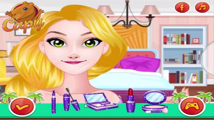 Disney Princess Games - Rapunzel And Belle's California Summer