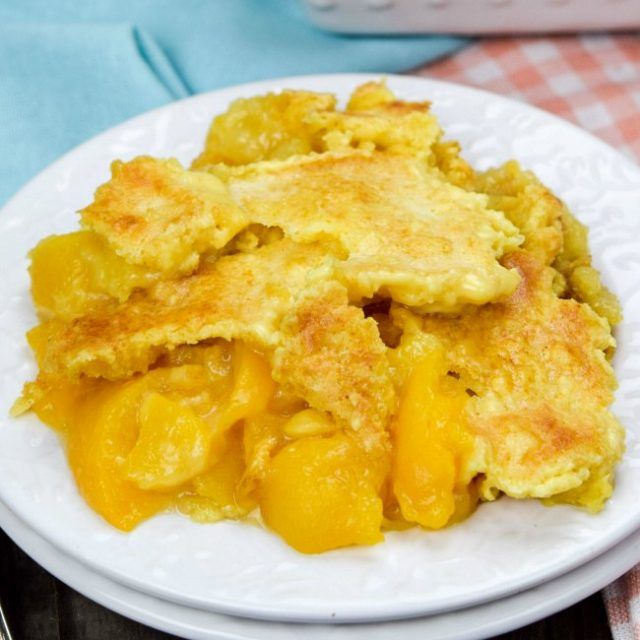 Peach Dump Cake - Gonna Want Seconds
